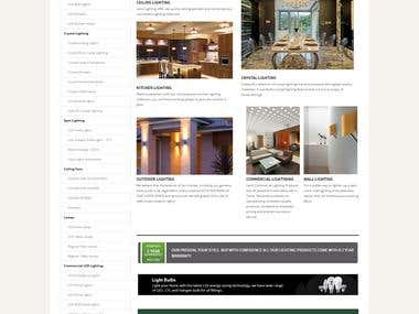 Lexis Lighting Website