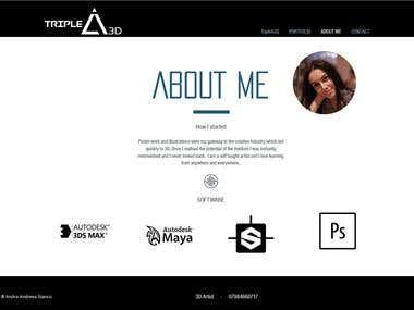 Website Triple A 3D
