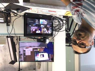 Live Broadcasting Studio