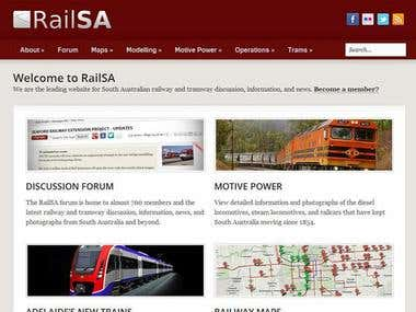 WordPress - RailSA