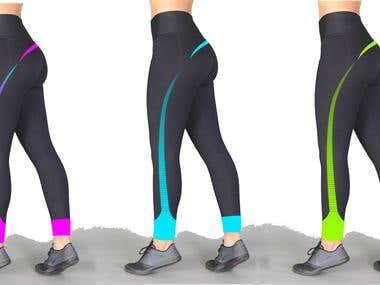 Legging designing
