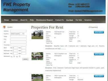 Real estate Rental - Marketing Lead generation