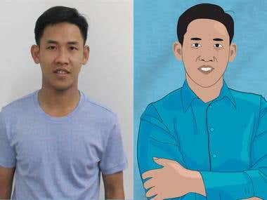 Cartoon / Portrait /Caricature