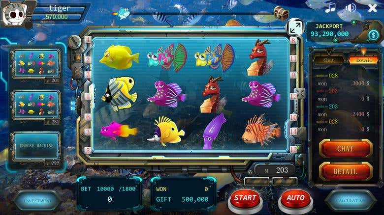 Slot machine - Online Game | Freelancer