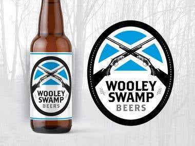 Wooley Swamp Beer Branding