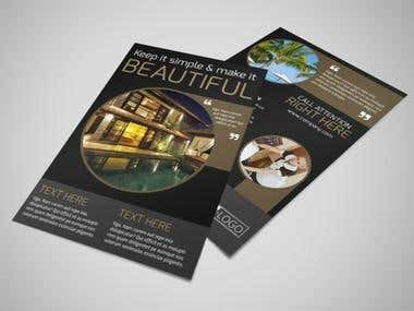 FLYERS AND POSTERS DESIGNS