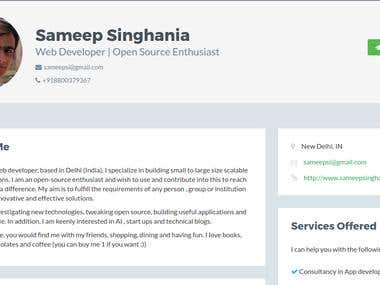 Web Developer | Open Source Enthusiast