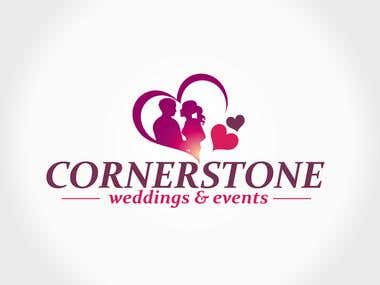 Wedding event logo