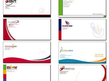 Envelope and Letterhead Design