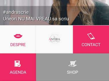 Cosmetics Sales App