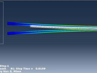Cohesive Failure simulation Using UEL of ABAQUS