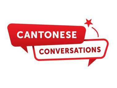 Cantonese Conversations Branding