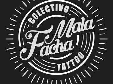 """Logo de colectivo """"Mala Facha"""""""