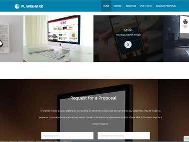 Web site from scratch.(Python ,Django)