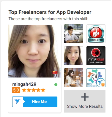 Hire Top Developer - YueXi (mingah429)!