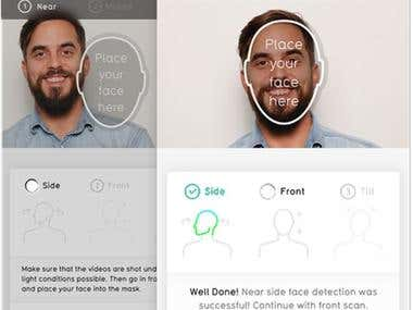 Face Recognition Website and Mobile App