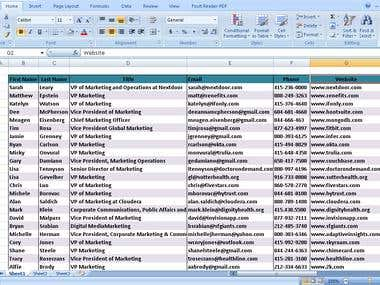 Collect Emails From Excel Sheets