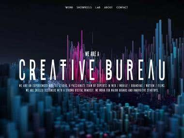 Miro Creative website