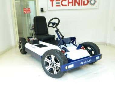 Customized electric vehicle