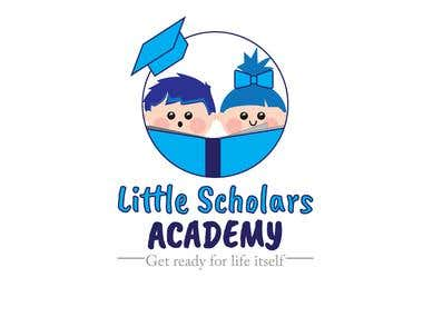 little school academy logo