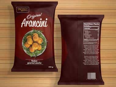 food pouch bag