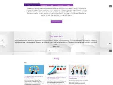 One-page Website