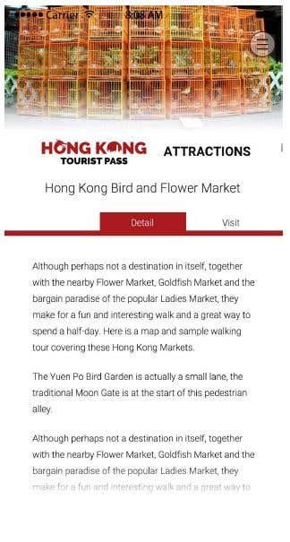 Tourist Hybrid App