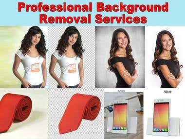 Professional Image background removal service
