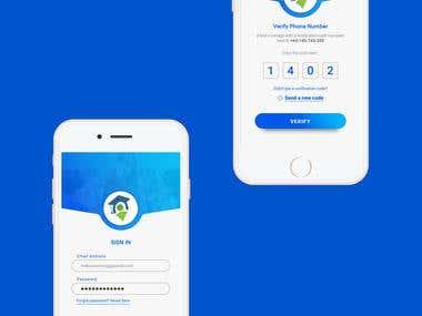 Mobile App Design - My Teacher