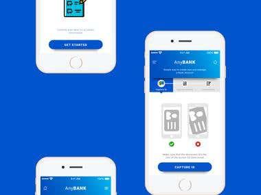 Mobile App Design - Scan Document Verification