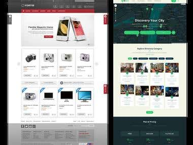Ecommerce web design 01