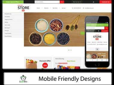 Ecommerce web design 03