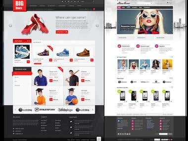 Ecommerce web design 05