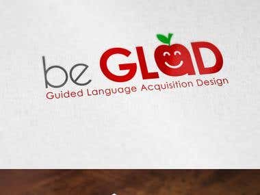 Creative Be Glad logo