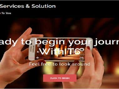 Wordpress- T6 Services And Solutions