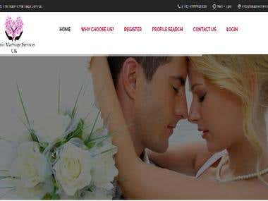 Matrimonial Website-Islamic Marriage Services (UK)