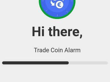Trade Coin Alaram