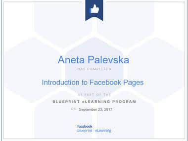 Introduction to FB Pages Certificate