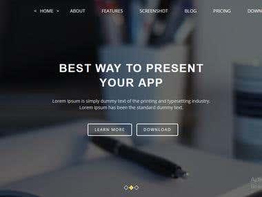 Bootstrap Responsive design