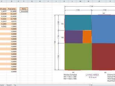 Excel Freeform Shape Area Calculator v2.0