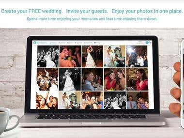 Wedding web + iOS + Android