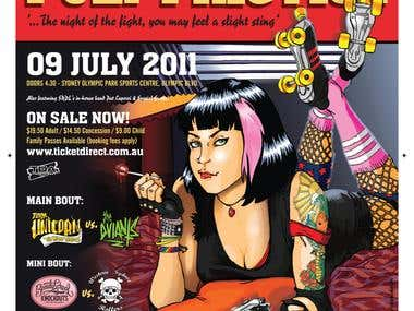 sydney Roller Derby posters