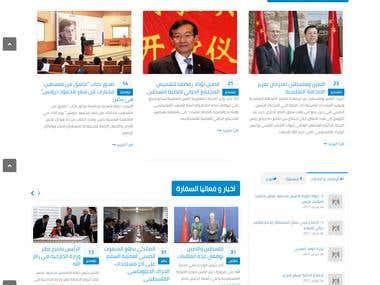 CMS Web Site