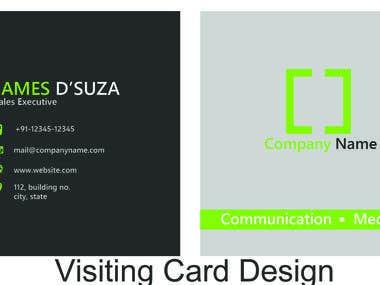 visiting card2
