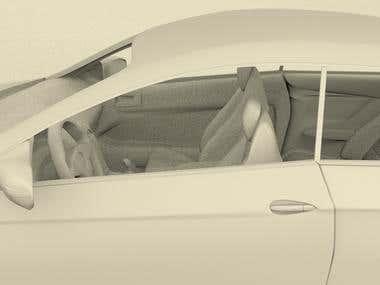 Marcedez-Benz E 500 Coupe
