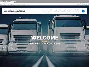 Ashok Cargo - Web Designing