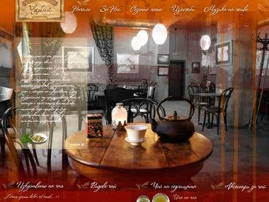 Tea House Website Design
