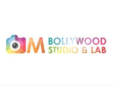Om Bollywood studio and Lab Logo