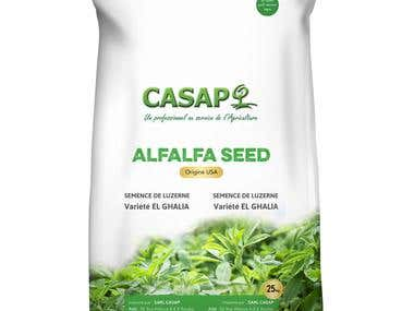 Alfalfa Packaging Design