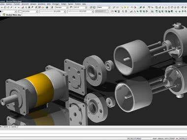 3D modeling of Auto Parts